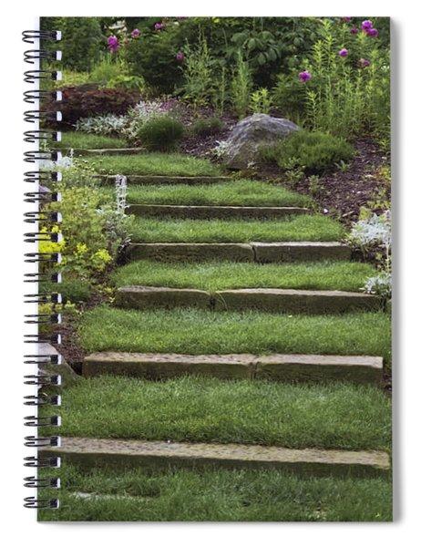 Soft Stairs Spiral Notebook