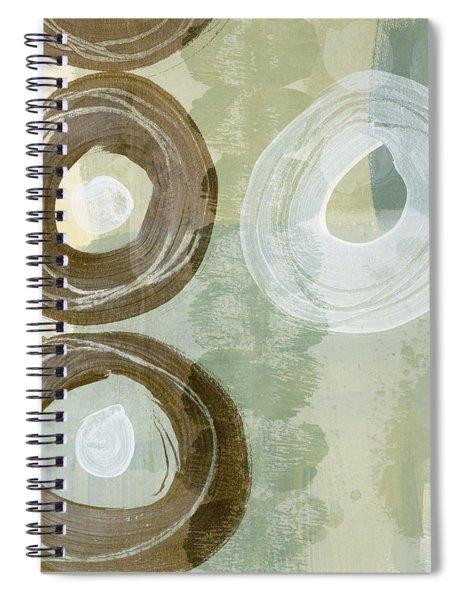 Softly Green Spiral Notebook