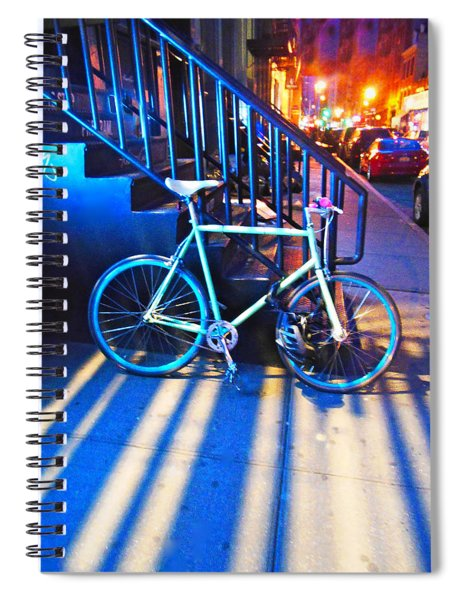 Soho Bicycle  Spiral Notebook