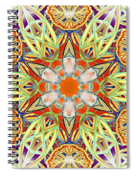 Solar Lattice Spiral Notebook