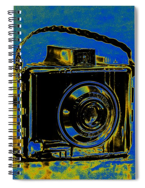 Solarized Brownie Spiral Notebook