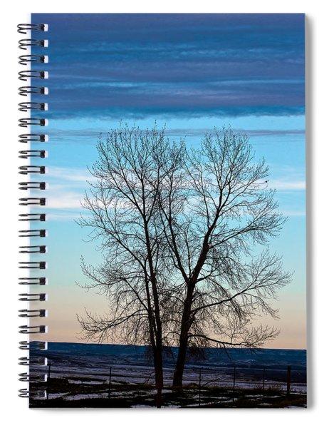 Soldier Creek Sunset Spiral Notebook