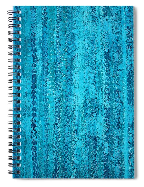 Some Call It Rain Original Painting Spiral Notebook
