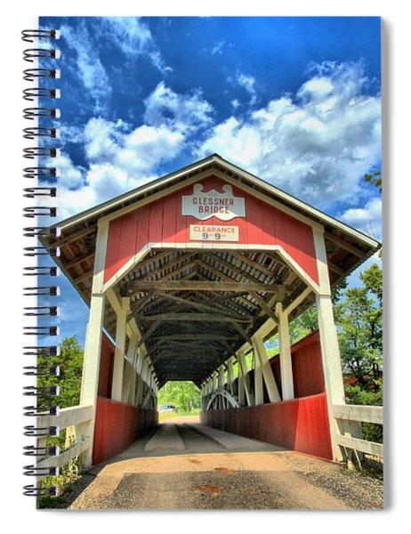 Somerset Pa Glessner Bridge Spiral Notebook