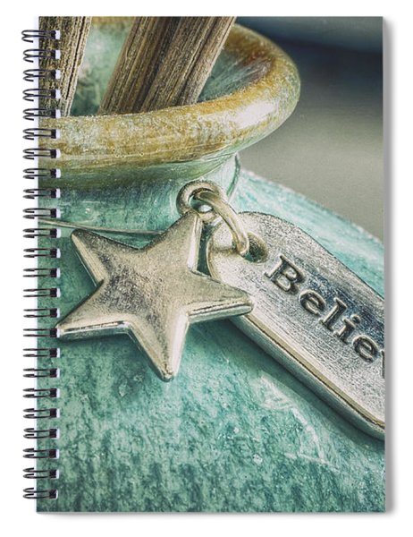 Something To Believe In Spiral Notebook