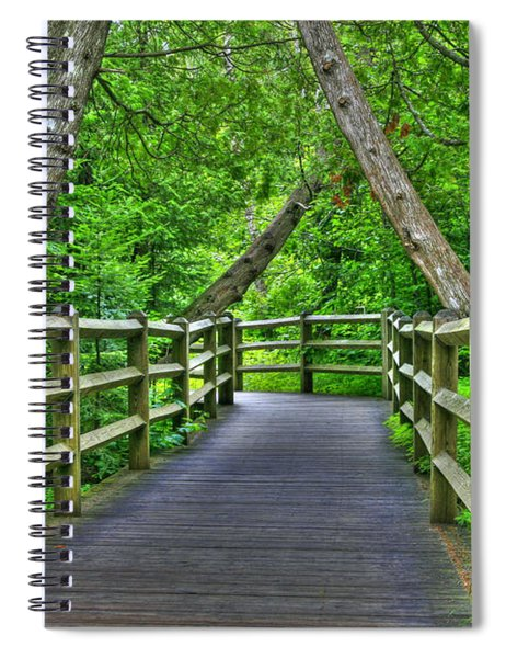 Somewhere In The Upper Peninsula Spiral Notebook