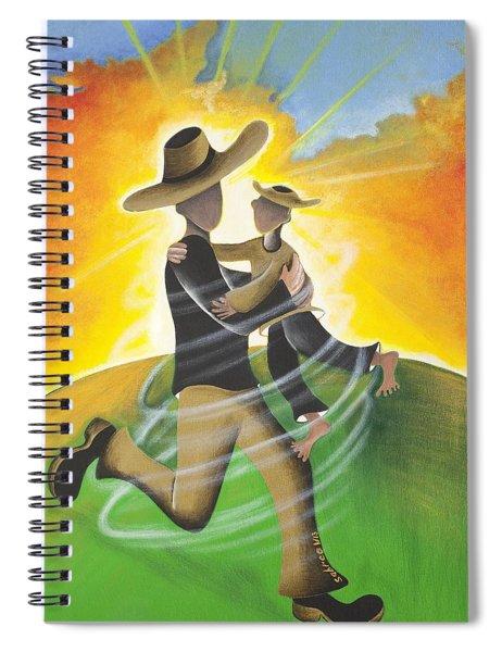 Son Light Spiral Notebook
