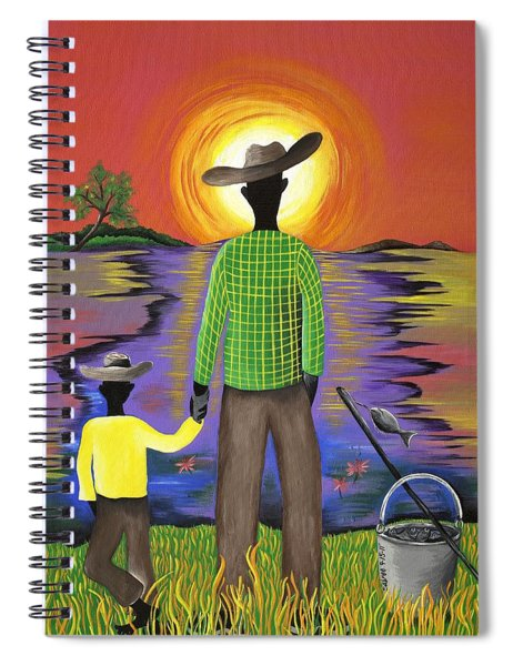 Son Raise Spiral Notebook