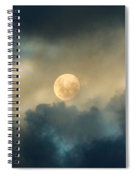 Song To The Moon Spiral Notebook