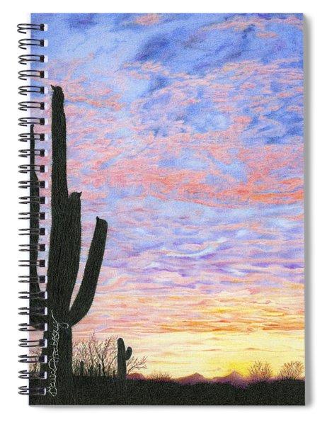 Sonoran Desert Colors Spiral Notebook
