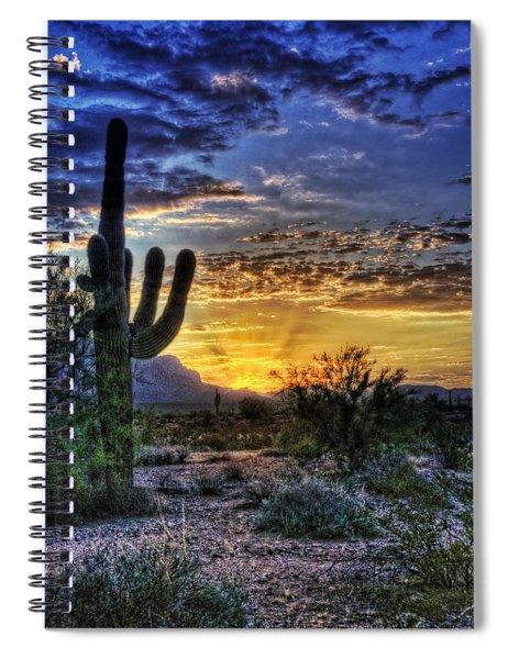 Sonoran Sunrise  Spiral Notebook
