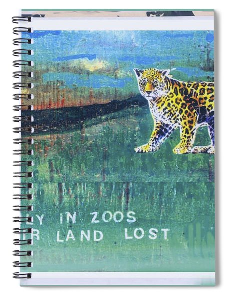 Soon Only In Zoos  Their Land Lost Spiral Notebook
