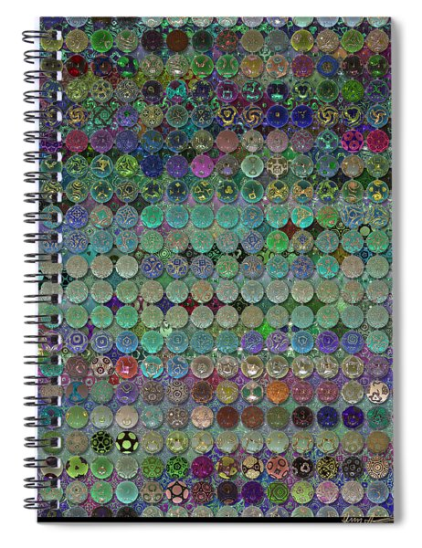 Soon The Dark Cloud Will Be Gone And Life Will Be Glass Ornaments Spiral Notebook