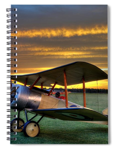 Sopwith Sunset Spiral Notebook