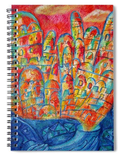 Sound Of Shofar Spiral Notebook