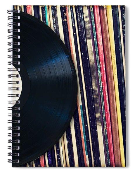 Sound Of Vinyl Spiral Notebook