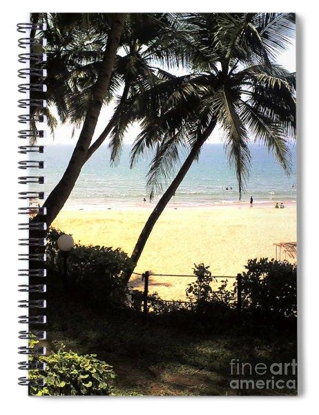 South Beach - Miami Spiral Notebook