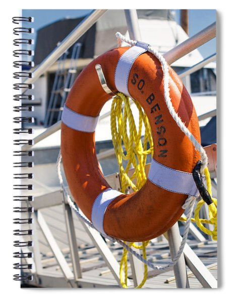South Benson Marina Buoy Spiral Notebook