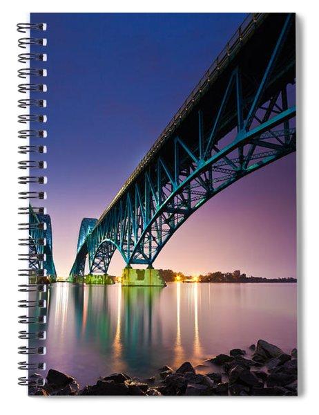 South Grand Island Bridge Spiral Notebook