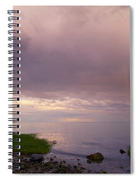 South Pine Creek Sunset Spiral Notebook