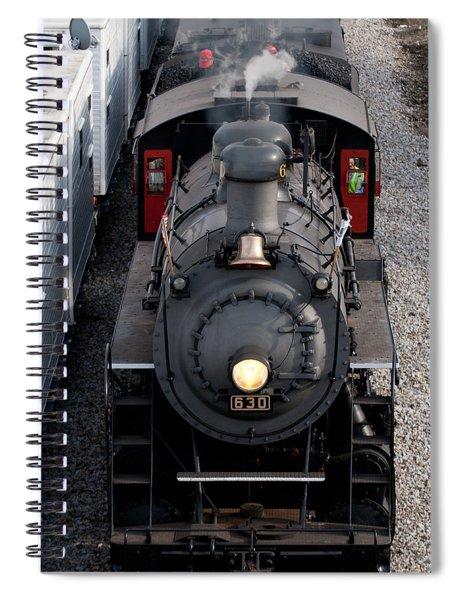 Southern Railway #630 Steam Engine Spiral Notebook