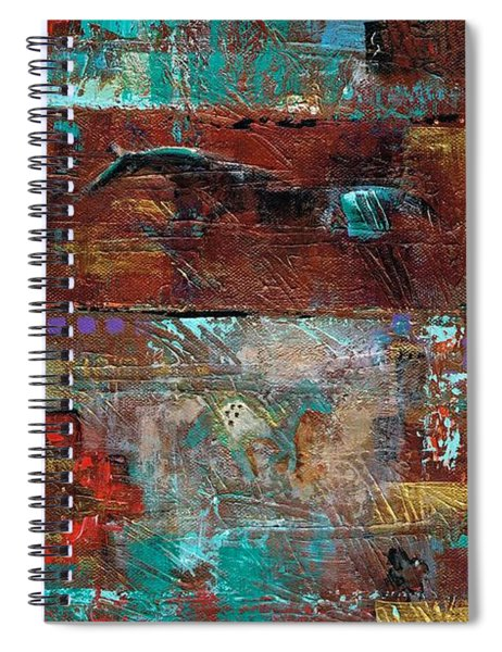 Southwest Horses Spiral Notebook