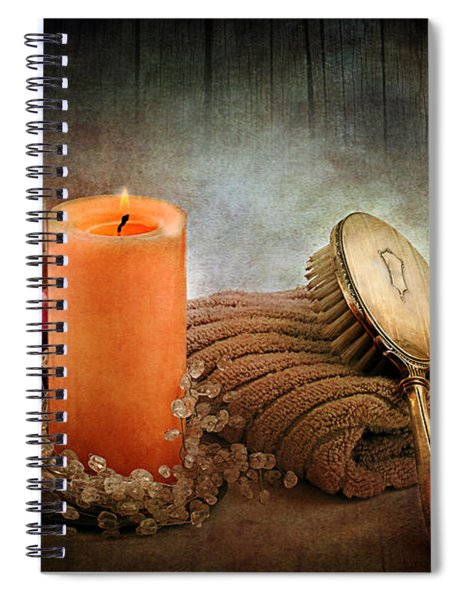 Spa Spiral Notebook