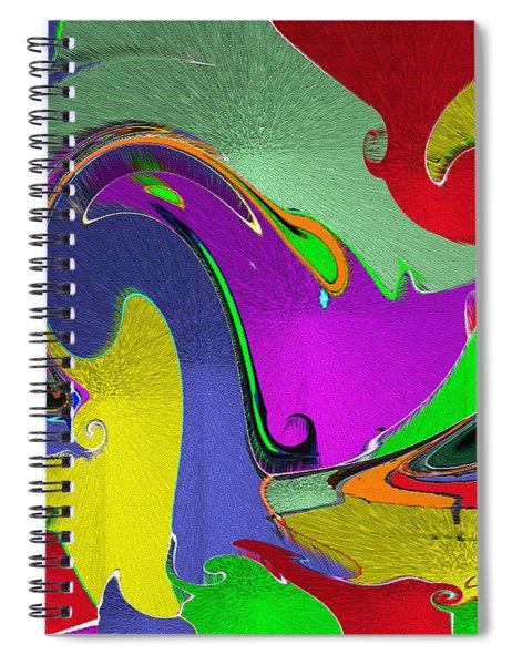Space Interface Spiral Notebook