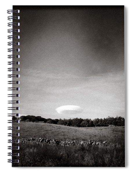 Spaceship Spiral Notebook