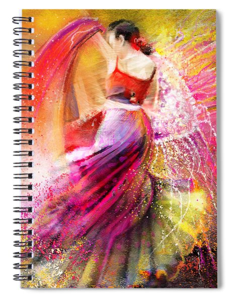 Spain - Flamencoscape 12 Spiral Notebook