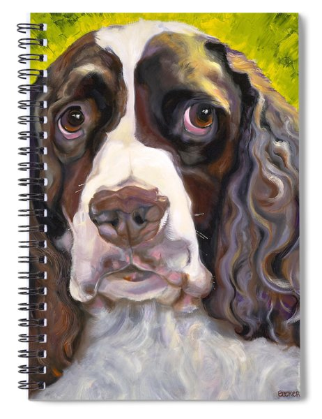 Spaniel The Eyes Have It Spiral Notebook