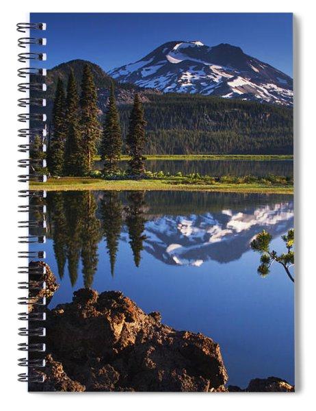 Sparks Lake Sunrise Spiral Notebook