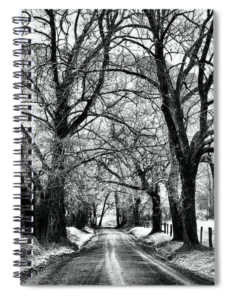 Sparks Lane During Winter Spiral Notebook