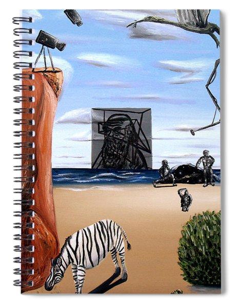 Species Differentiation -darwinian Broadcast- Spiral Notebook