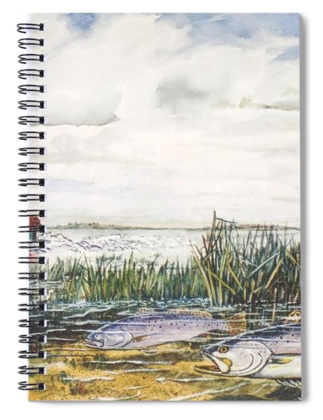 Speckled Trout Spiral Notebook