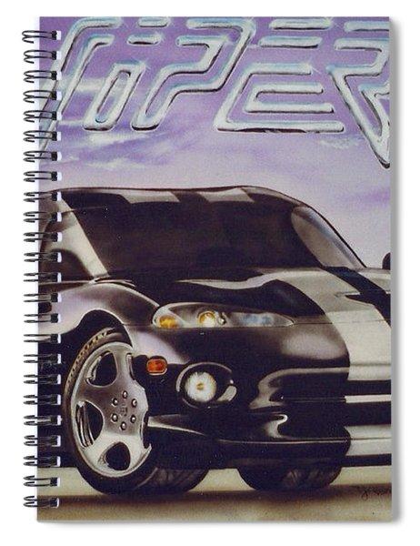 Speed At A Standstill Spiral Notebook
