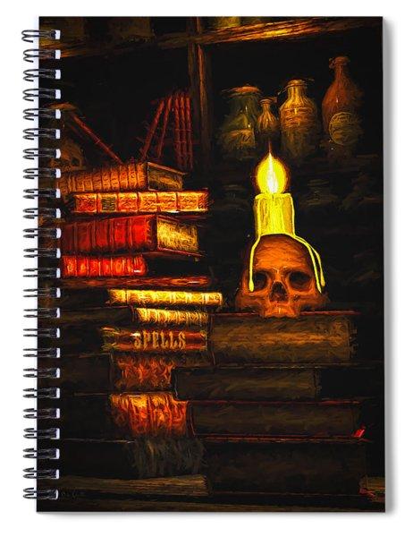 Spells Spiral Notebook