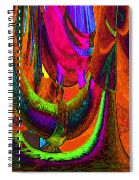 Spelunking On Venus Spiral Notebook