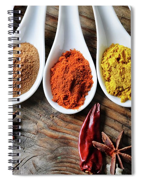 Spices Spiral Notebook