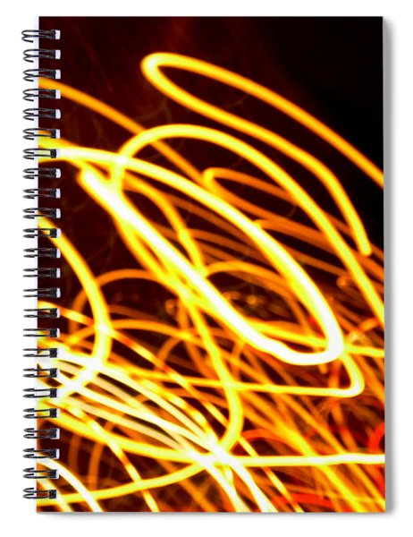 Spiral Light Among Dwellers About The City 2 Spiral Notebook