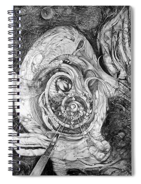 Spiral Rapture 2 Spiral Notebook