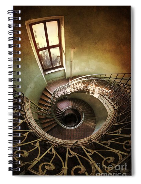 Spiral Staircaise With A Window Spiral Notebook