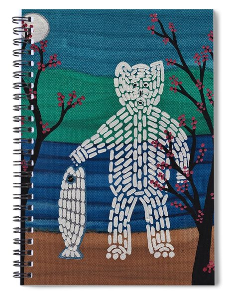 Spirit Bear Bella Coola Spiral Notebook