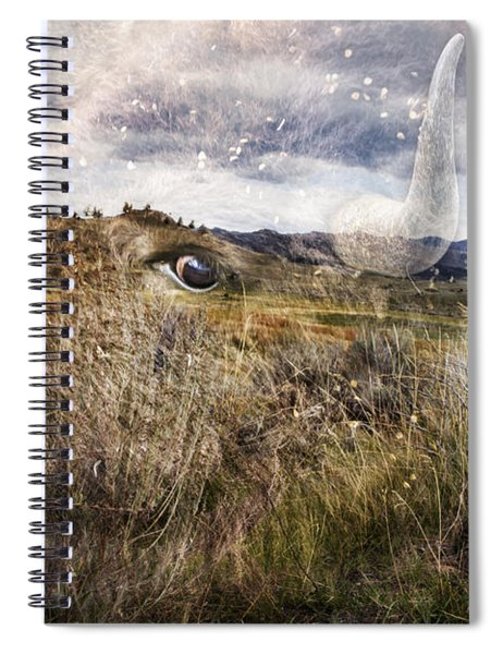 Spirit Of The Past Spiral Notebook