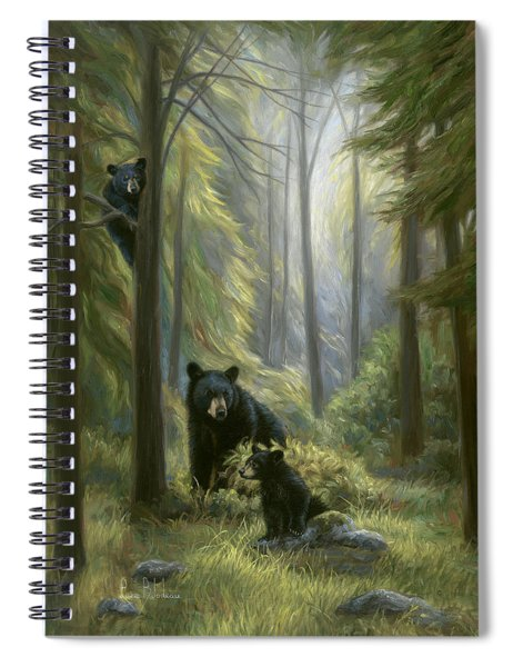 Spirits Of The Forest Spiral Notebook