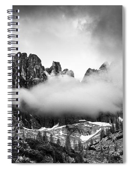 Spirits Of The Mountains Spiral Notebook