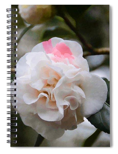 Splash Of Pink Spiral Notebook