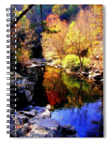 Splendor Of Autumn Spiral Notebook