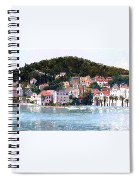 Split Harbour Croatia Spiral Notebook