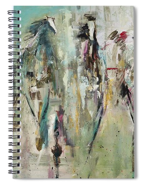 Spooked Spiral Notebook